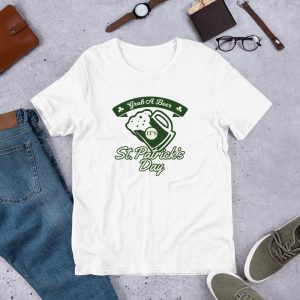 Grab a Beer mockup Front Flat Lifestyle White