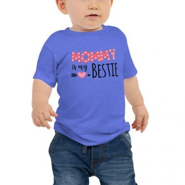 baby premium tee heather columbia blue front 606609a795e87