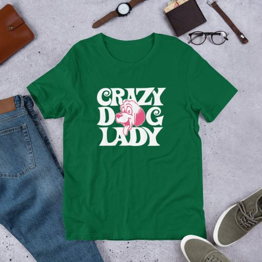 crazy dog lady mockup Front Flat Lifestyle Kelly