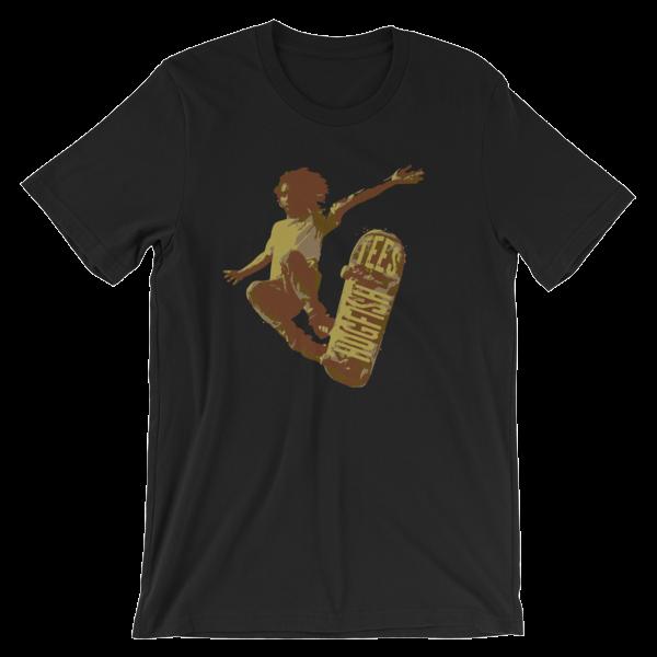HFT Flying Skater Short-Sleeve Unisex T-Shirt