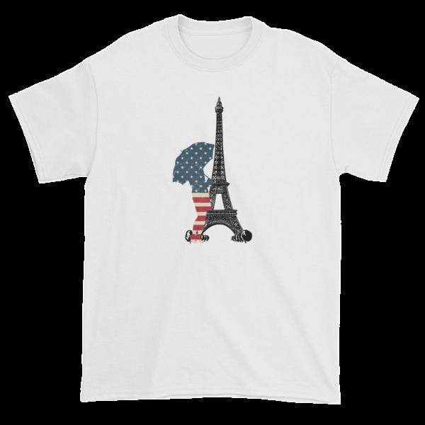 An American in Paris Short sleeve t-shirt