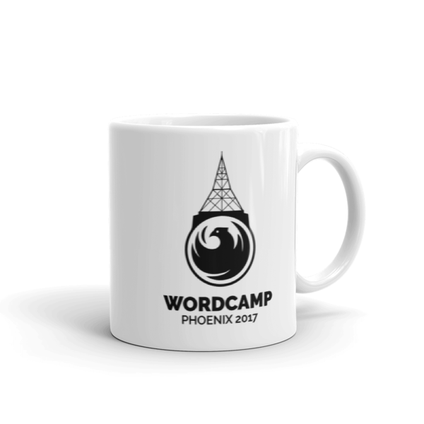 WordCamp PHX 2017 Mug