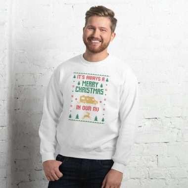 unisex crew neck sweatshirt white 5fcd5c286ee55