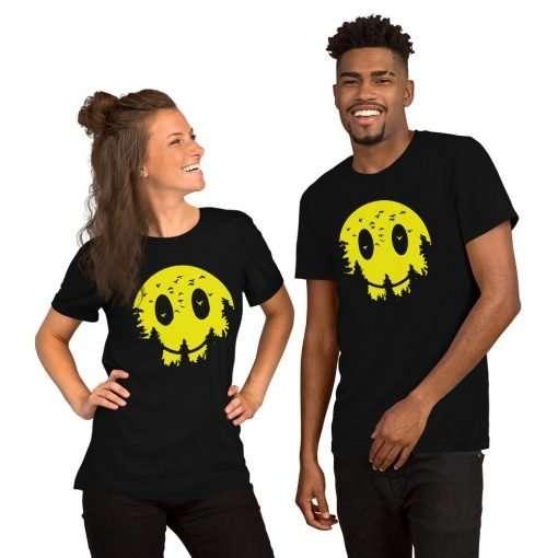 unisex premium t shirt black front 6054eef242fa5