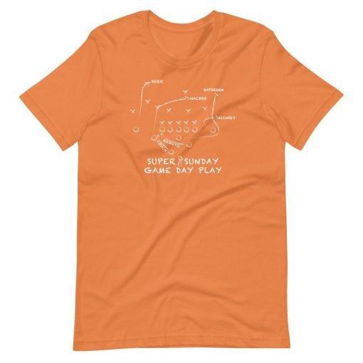 unisex premium t shirt burnt orange 6004b21e1b6c4